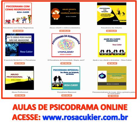 aulas psicodrama online