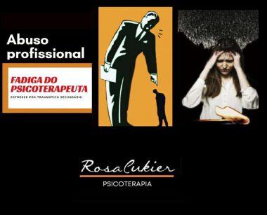 CURSO ABUSO PROFISSIONAL E FADIGA (BURNOUT) DO PSICOTERAPEUTA